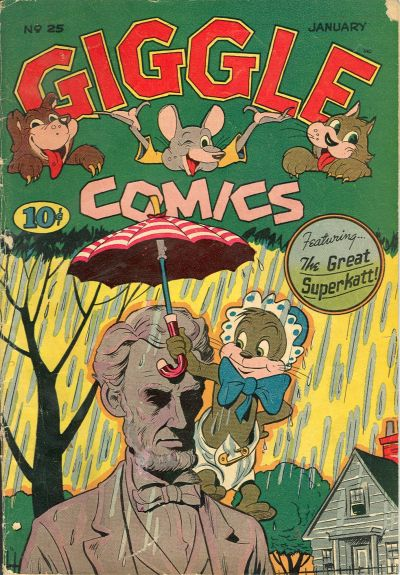 Cover for Giggle Comics (American Comics Group, 1943 series) #25