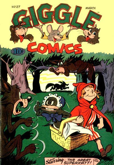 Cover for Giggle Comics (American Comics Group, 1943 series) #27