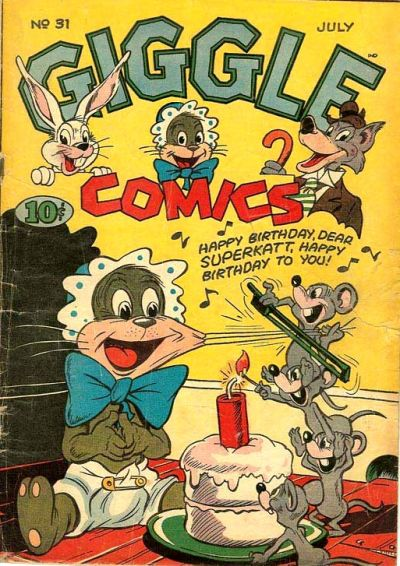 Cover for Giggle Comics (American Comics Group, 1943 series) #31
