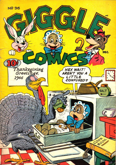 Cover for Giggle Comics (American Comics Group, 1943 series) #36