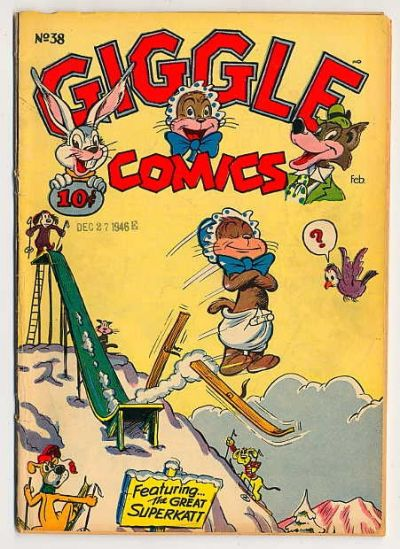 Cover for Giggle Comics (American Comics Group, 1943 series) #38