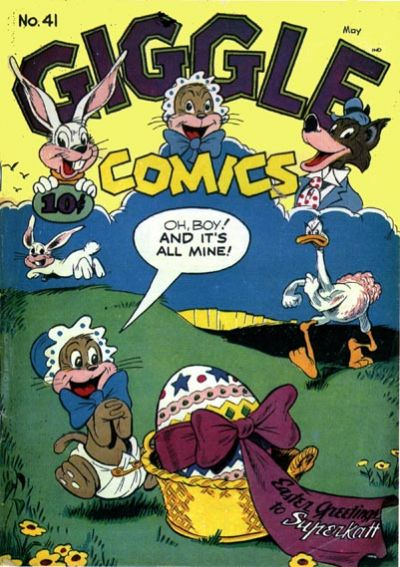 Cover for Giggle Comics (American Comics Group, 1943 series) #41