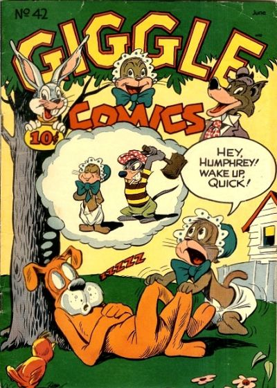 Cover for Giggle Comics (American Comics Group, 1943 series) #42