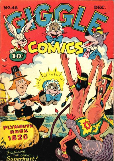 Cover for Giggle Comics (American Comics Group, 1943 series) #48