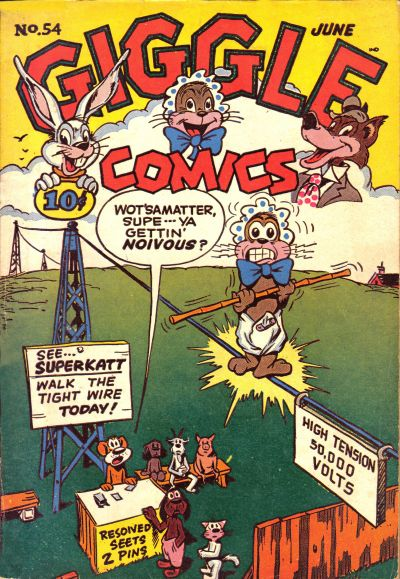 Cover for Giggle Comics (American Comics Group, 1943 series) #54