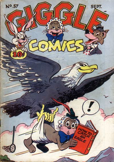 Cover for Giggle Comics (American Comics Group, 1943 series) #57