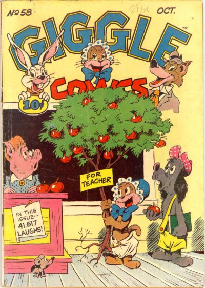 Cover for Giggle Comics (American Comics Group, 1943 series) #58