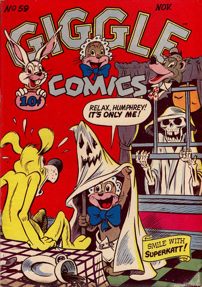 Cover for Giggle Comics (American Comics Group, 1943 series) #59