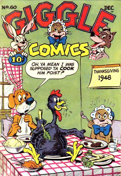 Cover for Giggle Comics (American Comics Group, 1943 series) #60