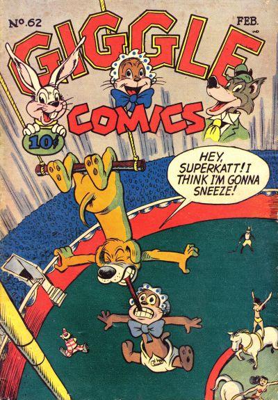 Cover for Giggle Comics (American Comics Group, 1943 series) #62