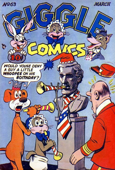 Cover for Giggle Comics (American Comics Group, 1943 series) #63