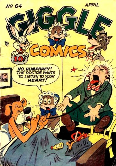 Cover for Giggle Comics (American Comics Group, 1943 series) #64