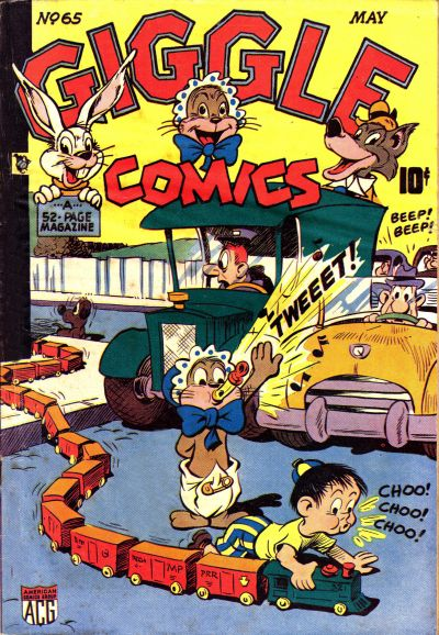 Cover for Giggle Comics (American Comics Group, 1943 series) #65