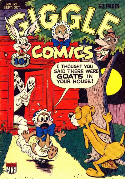 Cover for Giggle Comics (American Comics Group, 1943 series) #67