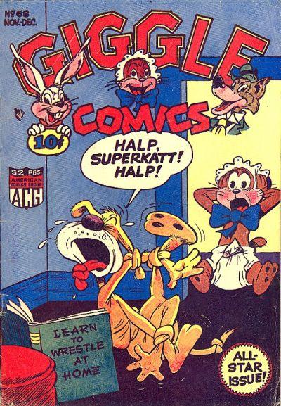 Cover for Giggle Comics (American Comics Group, 1943 series) #68