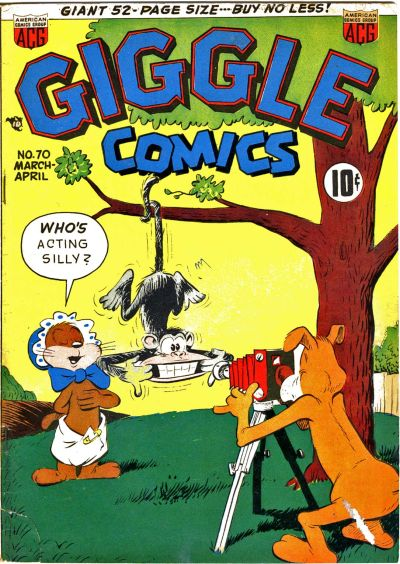 Cover for Giggle Comics (American Comics Group, 1943 series) #70