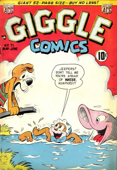 Cover for Giggle Comics (American Comics Group, 1943 series) #71