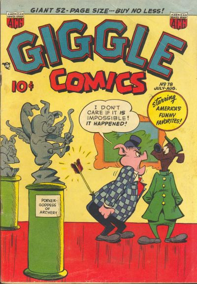 Cover for Giggle Comics (American Comics Group, 1943 series) #78