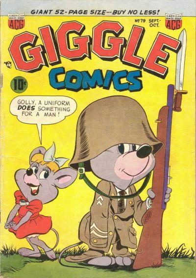 Cover for Giggle Comics (American Comics Group, 1943 series) #79