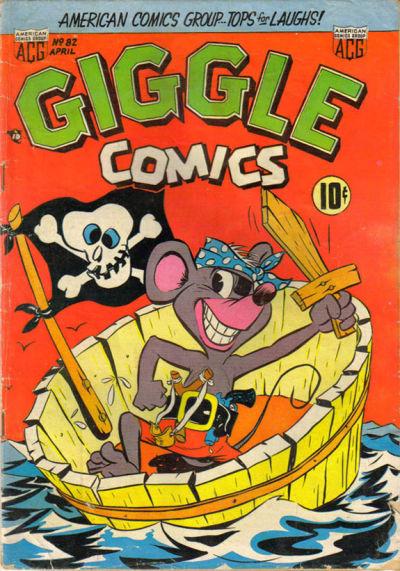 Cover for Giggle Comics (American Comics Group, 1943 series) #82