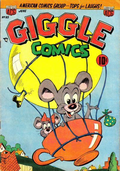 Cover for Giggle Comics (American Comics Group, 1943 series) #83