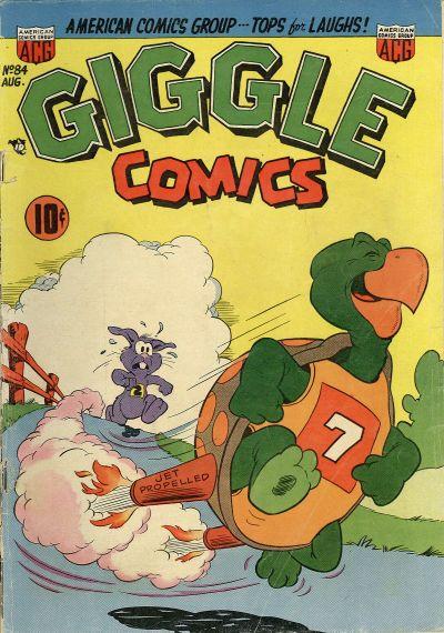Cover for Giggle Comics (American Comics Group, 1943 series) #84