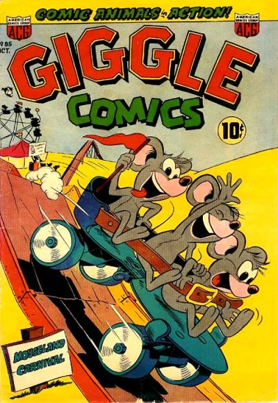 Cover for Giggle Comics (American Comics Group, 1943 series) #85