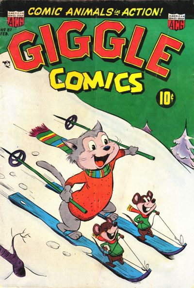 Cover for Giggle Comics (American Comics Group, 1943 series) #87