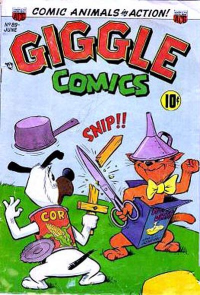 Cover for Giggle Comics (American Comics Group, 1943 series) #89