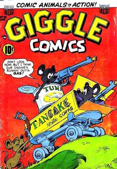 Cover for Giggle Comics (American Comics Group, 1943 series) #90