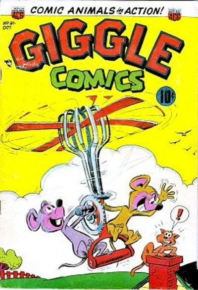 Cover for Giggle Comics (American Comics Group, 1943 series) #91