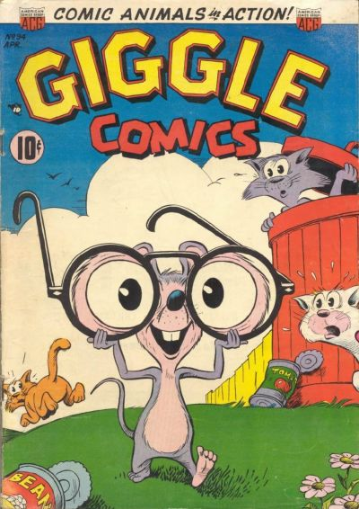 Cover for Giggle Comics (American Comics Group, 1943 series) #94