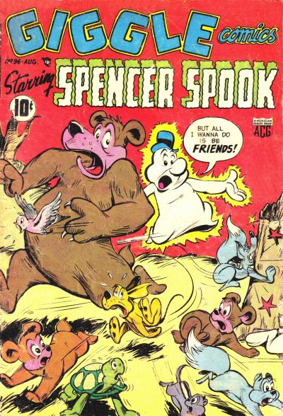 Cover for Giggle Comics (American Comics Group, 1943 series) #96