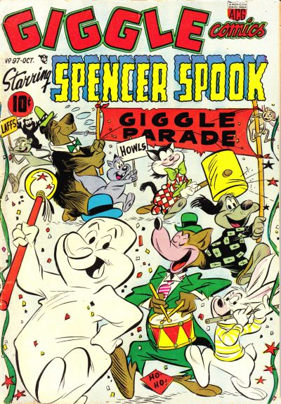Cover for Giggle Comics (American Comics Group, 1943 series) #97