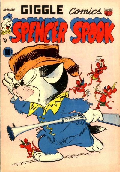 Cover for Giggle Comics (American Comics Group, 1943 series) #98
