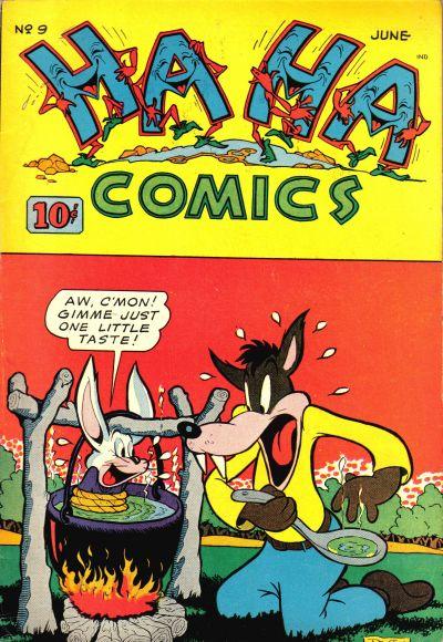 Cover for Ha Ha Comics (American Comics Group, 1943 series) #9