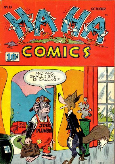 Cover for Ha Ha Comics (American Comics Group, 1943 series) #13