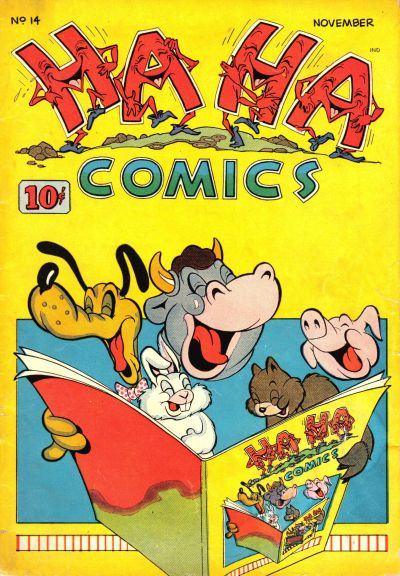 Cover for Ha Ha Comics (American Comics Group, 1943 series) #14