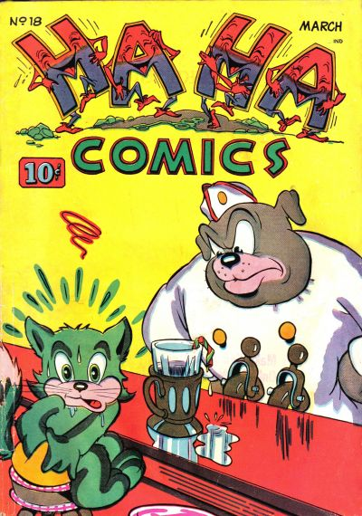 Cover for Ha Ha Comics (American Comics Group, 1943 series) #18