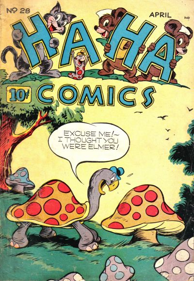 Cover for Ha Ha Comics (American Comics Group, 1943 series) #28