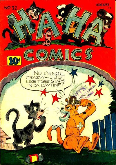 Cover for Ha Ha Comics (American Comics Group, 1943 series) #32