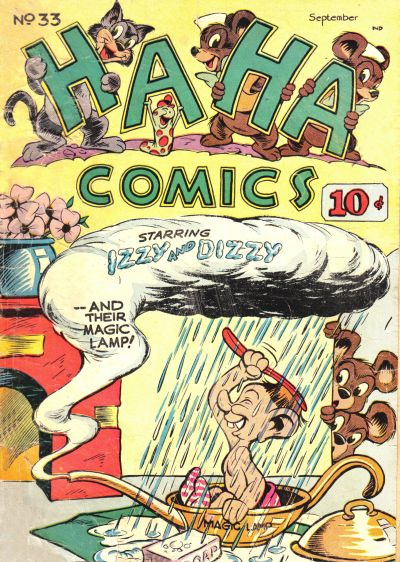 Cover for Ha Ha Comics (American Comics Group, 1943 series) #33