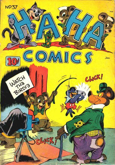 Cover for Ha Ha Comics (American Comics Group, 1943 series) #37