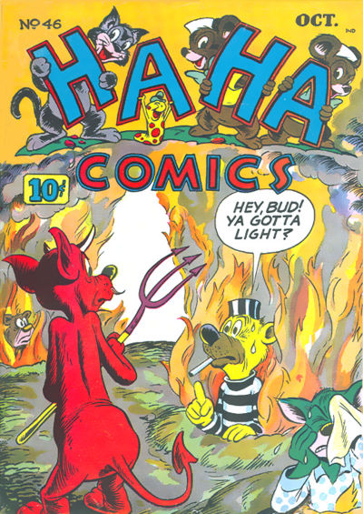 Cover for Ha Ha Comics (American Comics Group, 1943 series) #46