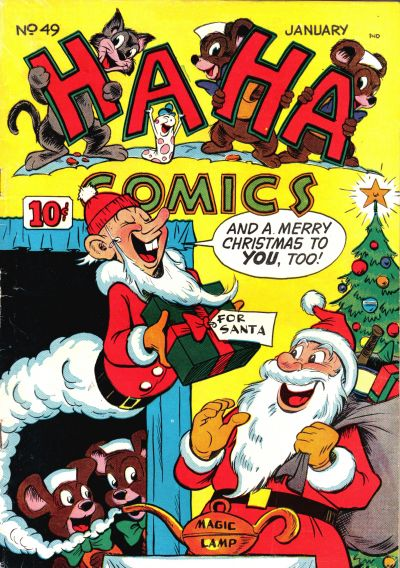 Cover for Ha Ha Comics (American Comics Group, 1943 series) #49