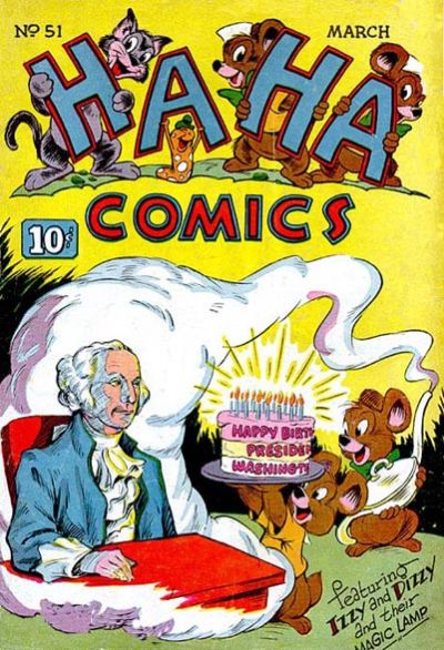 Cover for Ha Ha Comics (American Comics Group, 1943 series) #51