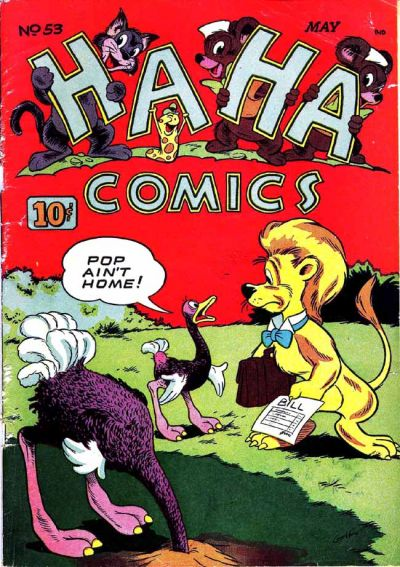 Cover for Ha Ha Comics (American Comics Group, 1943 series) #53