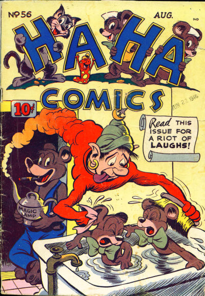 Cover for Ha Ha Comics (American Comics Group, 1943 series) #56