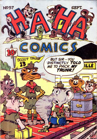 Cover for Ha Ha Comics (American Comics Group, 1943 series) #57