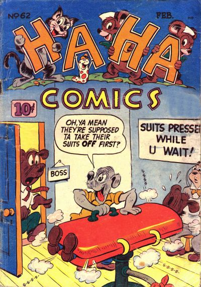 Cover for Ha Ha Comics (American Comics Group, 1943 series) #62